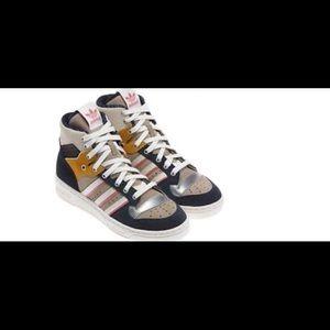 Adidas Rivalry Hi Top Sneakers